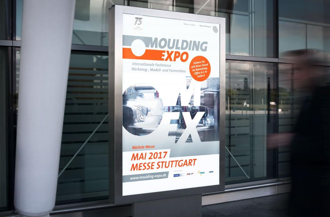 Kunde: Messe StuttgartProjekt: Moulding ExpoAussteller- und Besucherwerbung