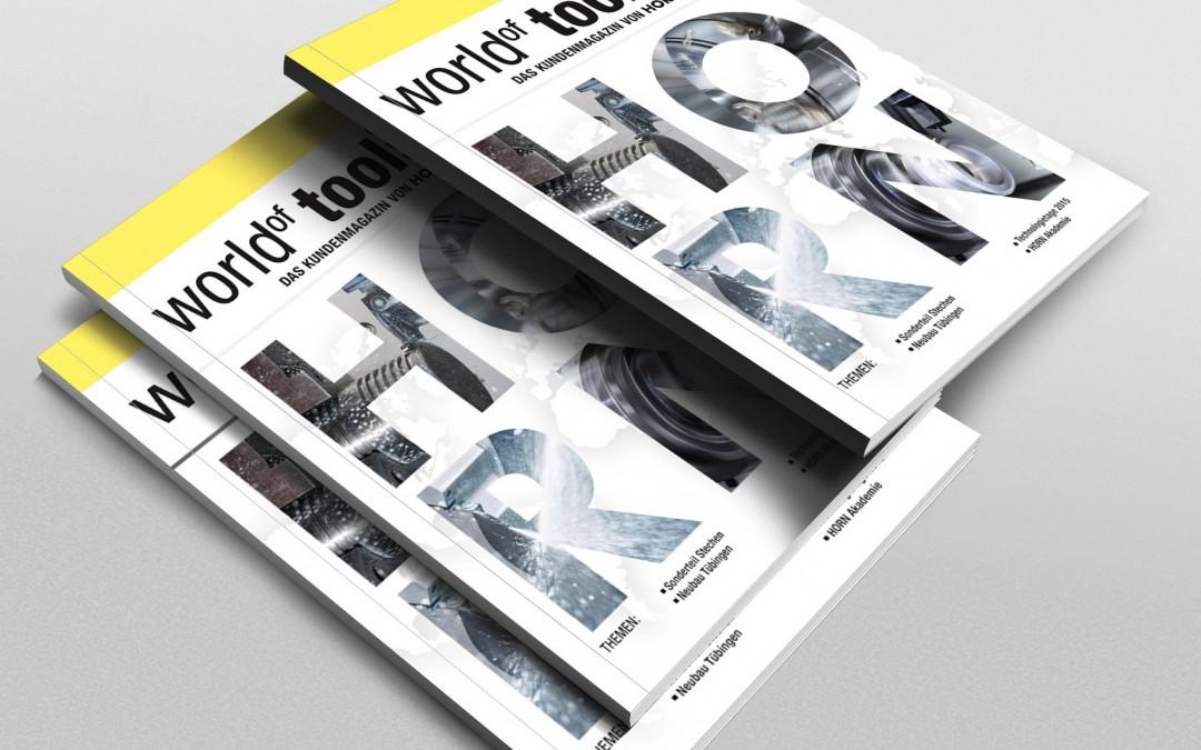 Kunde: Paul Horn GmbHProjekt: Kundenmagazin 3-sprachig