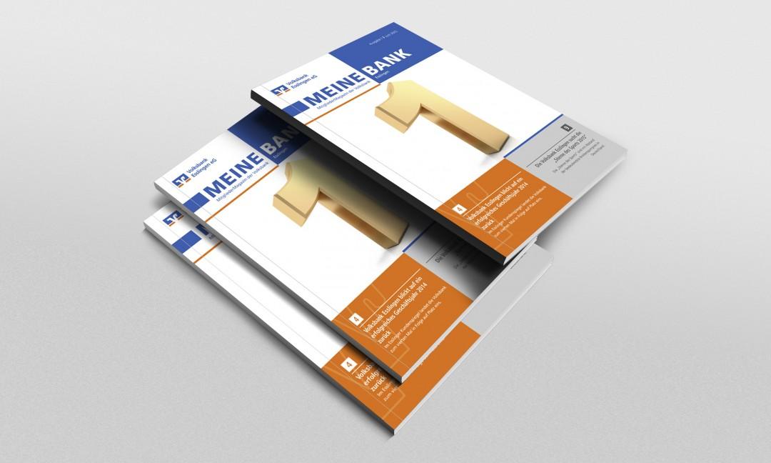 Kunde: Volksbank EsslingenProjekt: Mitgliedermagazine